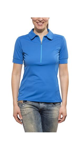 Norrøna fjørå equaliser lighweight T-Shirt Women electric blue